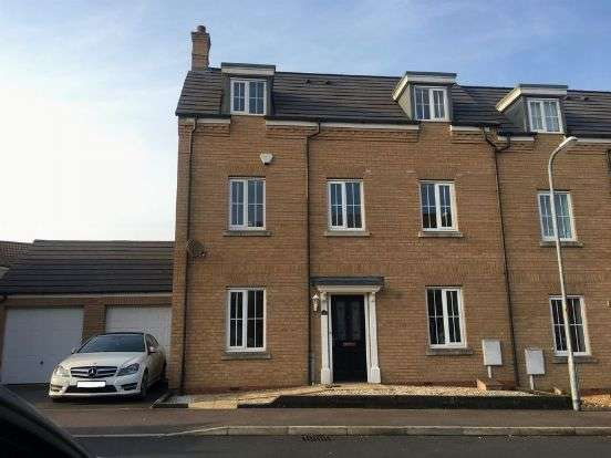3 Bedrooms Town House for sale in Howards Way, Moulton Park, Northampton NN3 6RL