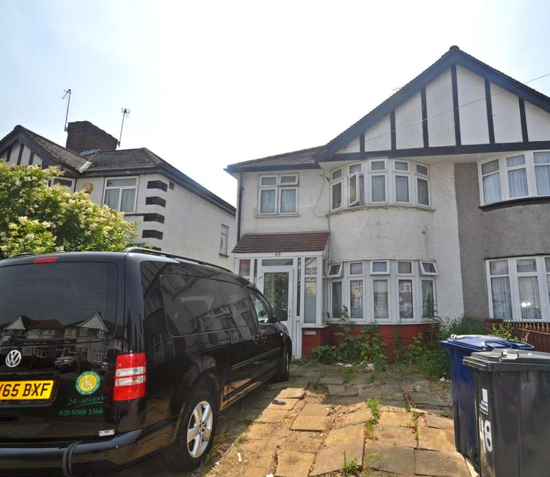3 Bedrooms End Of Terrace House for sale in Fraser Road, Perivale, Middlesex , UB6 7AL