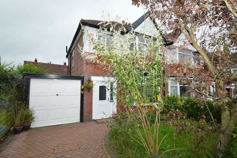 3 Bedrooms Semi Detached House for sale in Lynton Drive, Prestwich, Manchester, M25