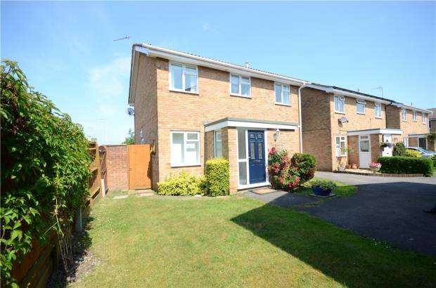 5 Bedrooms Detached House for sale in Fortrose Close, College Town, Sandhurst
