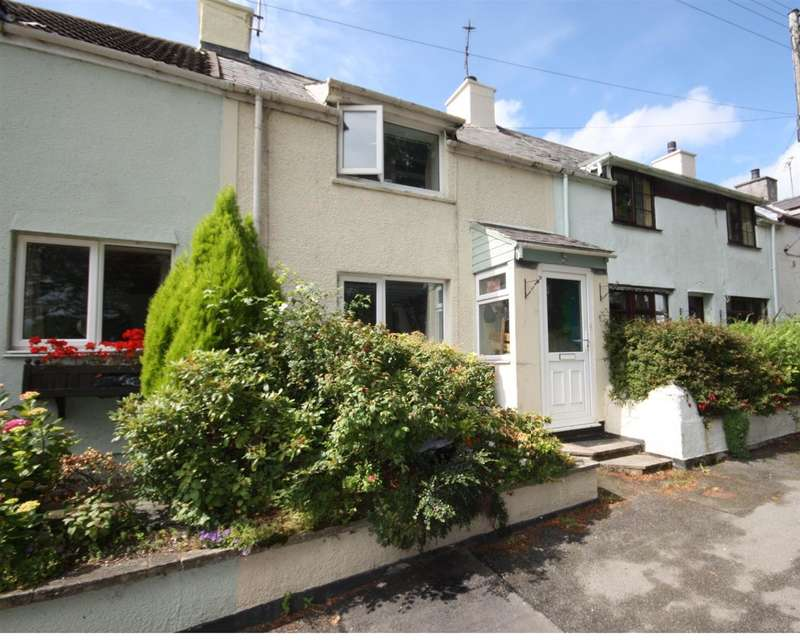 2 Bedrooms Terraced House for sale in Bron Haul Cottages, Lon Ganol, Llandegfan