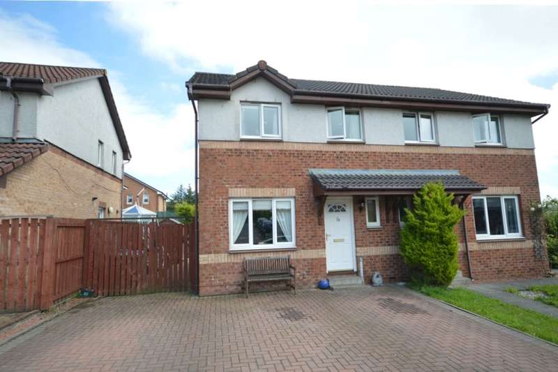 3 Bedrooms Semi Detached House for sale in Rankin Crescent, Dennyloanhead, FK4