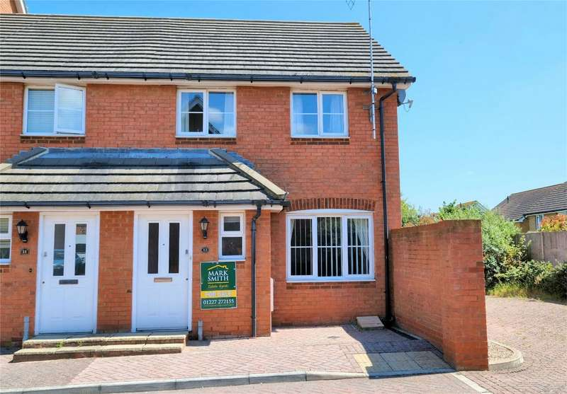 3 Bedrooms End Of Terrace House for sale in Aurelie Way, WHITSTABLE, Kent