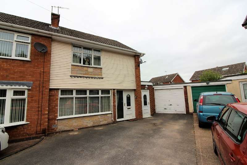 3 Bedrooms Semi Detached House for sale in Oaken Drive, Willenhall