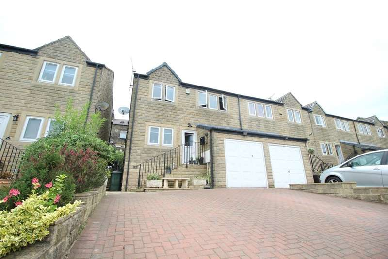 4 Bedrooms Semi Detached House for sale in Privet Drive, Oakworth, Keighley, BD22