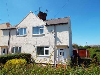 3 Bedrooms Semi Detached House for sale in Crossways, Shotton, Deeside, Flintshire, CH5