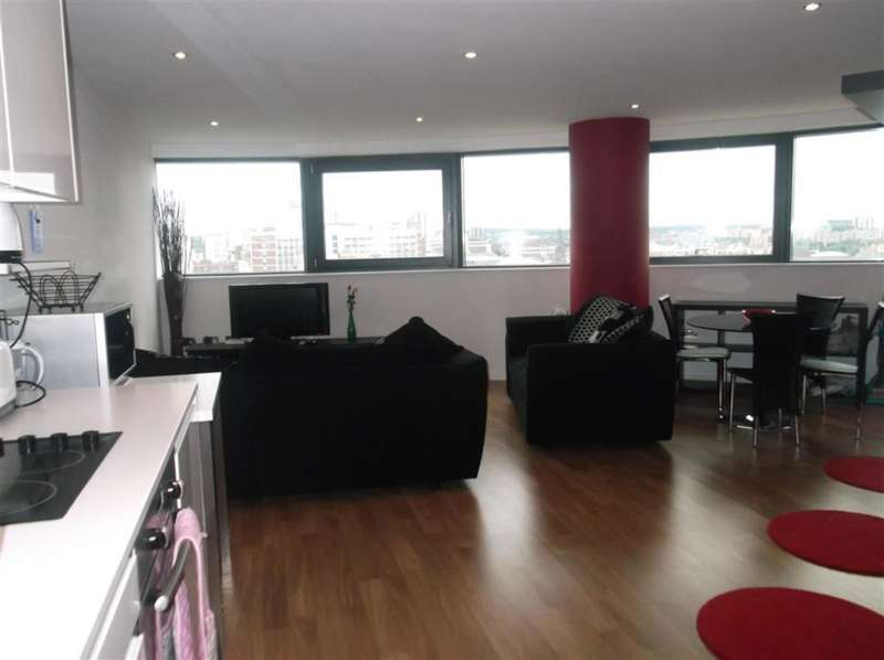 2 Bedrooms Flat for rent in Water Lane, Bridgewater Place, Leeds, LS11 5QT