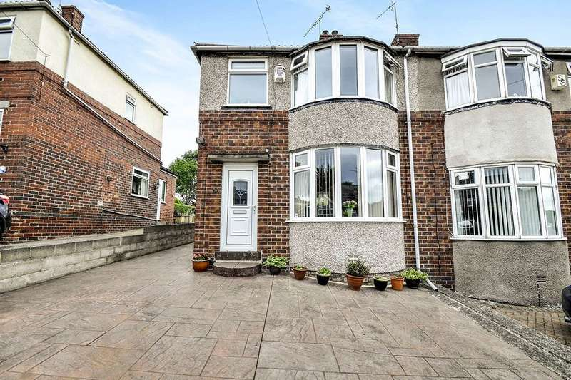 3 Bedrooms Semi Detached House for sale in Jepson Road, Sheffield, S5