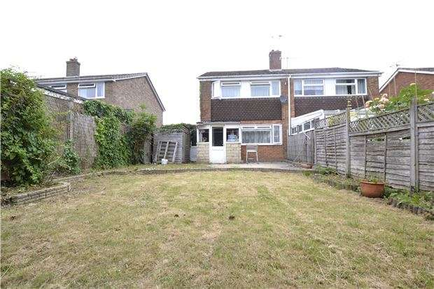 3 Bedrooms Semi Detached House for sale in Burwell Drive, WITNEY, OX28 5NA