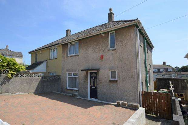 3 Bedrooms Semi Detached House for sale in Cleeve Gardens, Plymouth, Devon