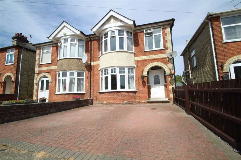 3 Bedrooms Semi Detached House for sale in Pretyman Road, Ipswich