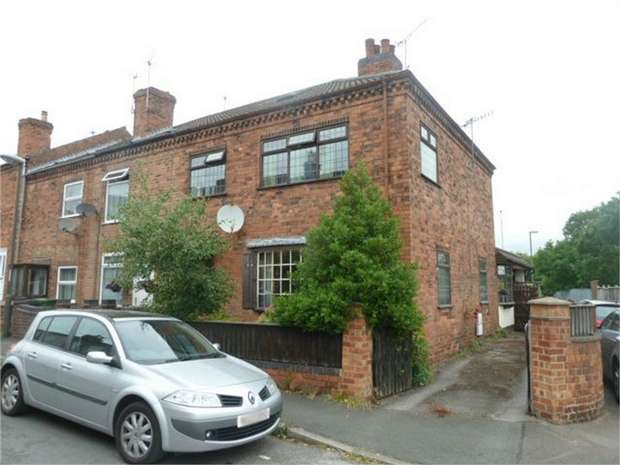 3 Bedrooms End Of Terrace House for sale in Ormonde Street, Langley Mill, Nottingham, Derbyshire