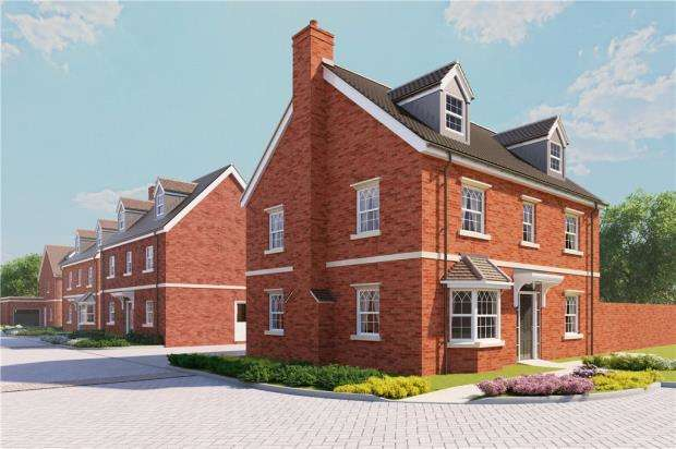5 Bedrooms Detached House for sale in Terrace Road North, Binfield, Berkshire