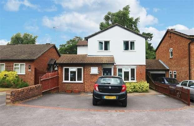 4 Bedrooms Detached House for sale in Argyle Close, Whitehill, Bordon, Hampshire