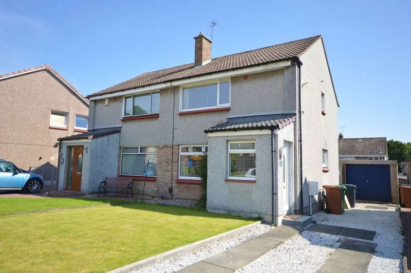 3 Bedrooms Semi Detached House for sale in Downfield Place, Kirkcaldy, KY2