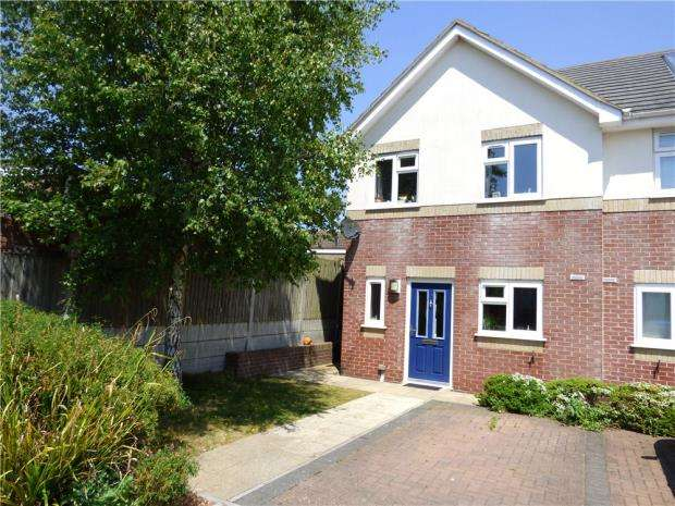 3 Bedrooms End Of Terrace House for sale in Ensbury Park, Bournemouth, BH10