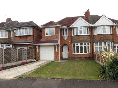 4 Bedrooms Semi Detached House for sale in Elmfield Road, Castle Bromwich, Birmingham, West Midlands