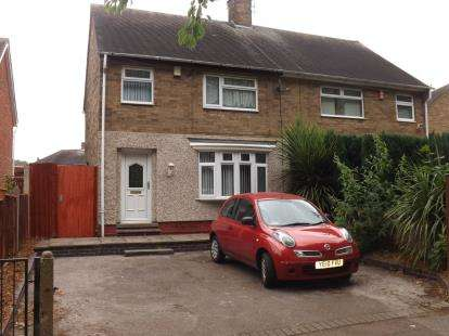 3 Bedrooms Semi Detached House for sale in Glapton Road, Clifton, Nottingham