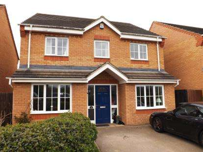 4 Bedrooms Detached House for sale in Brunel Drive, Biggleswade, Bedfordshire