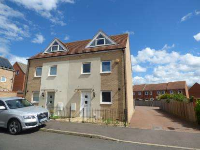 3 Bedrooms Semi Detached House for sale in Southwold Crescent, Broughton, Milton Keynes, Bucks
