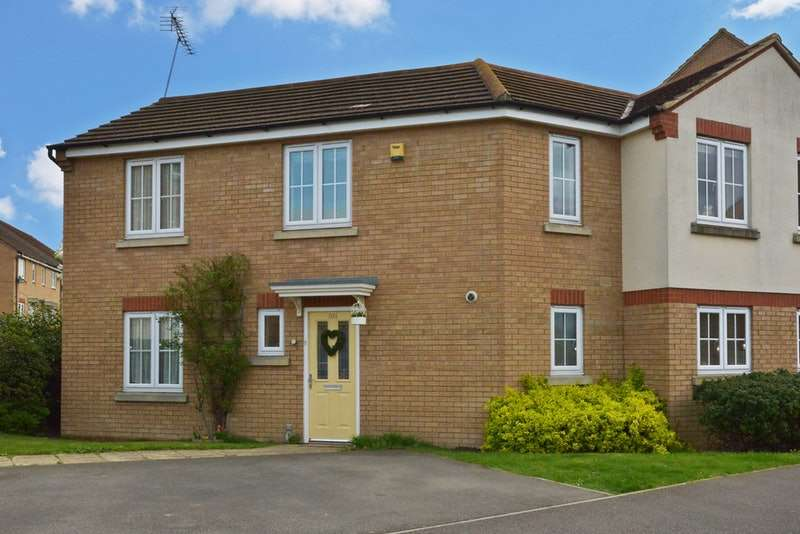 3 Bedrooms End Of Terrace House for sale in Cooper Drive, Leighton Buzzard, Bedfordshire, LU7
