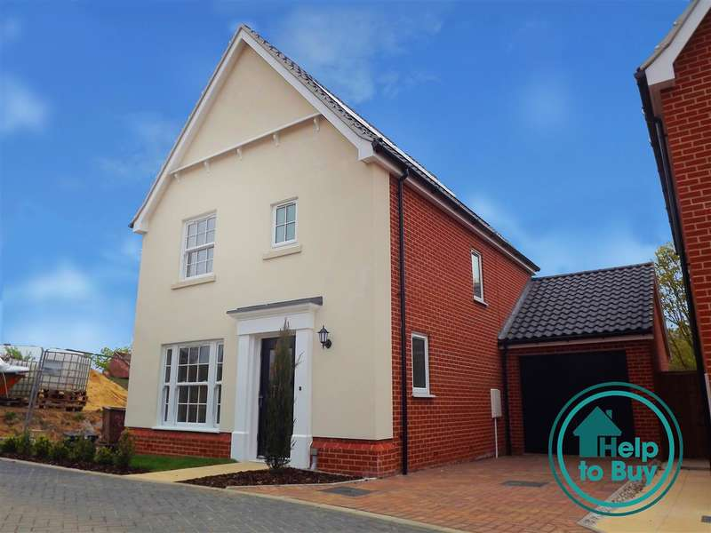 3 Bedrooms House for sale in Plot 33, The Strumpshaw, Springfield Grange, Acle