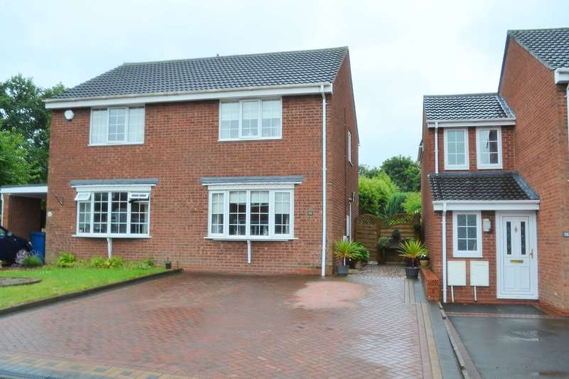 2 Bedrooms Semi Detached House for sale in Yew Tree Avenue, Lichfield