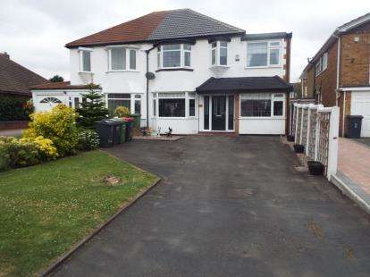 4 Bedrooms Semi Detached House for sale in Coleshill Road, Water Orton, Birmingham, Warwickshire