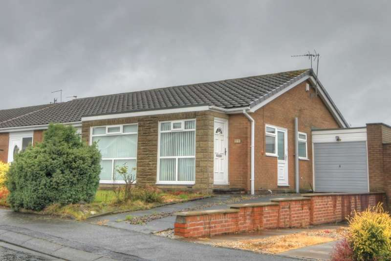 2 Bedrooms Semi Detached Bungalow for sale in Kidderminster Drive, Chapel Park, Newcastle Upon Tyne, NE5