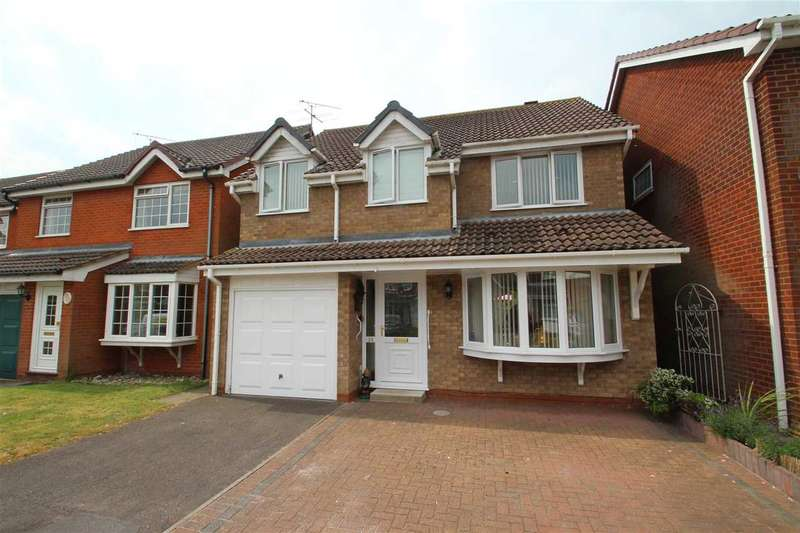 4 Bedrooms Detached House for sale in Upsons Way, Grange Farm, Kesgrave, Ipswich