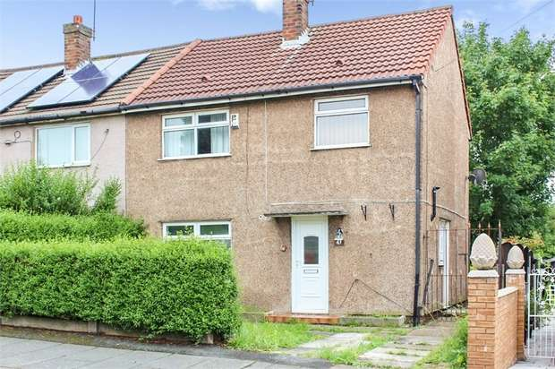 3 Bedrooms Semi Detached House for sale in Wilson Road, Prescot, Merseyside