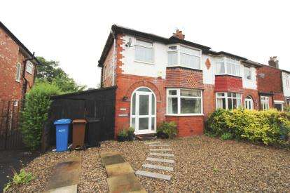 3 Bedrooms Semi Detached House for sale in Fairfield Avenue, Cheadle Hulme, Cheadle, Greater Manchester