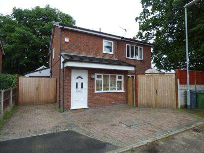 4 Bedrooms Detached House for sale in Burleigh Mews, Greater Manchester, Manchester