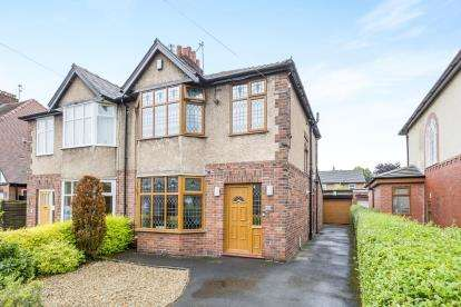 3 Bedrooms Semi Detached House for sale in Westway, Fulwood, Preston, Lancashire