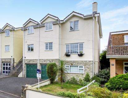 4 Bedrooms Detached House for sale in Hill View, Bournemouth, Dorset