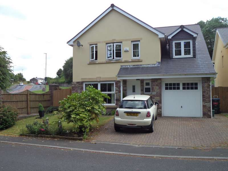 5 Bedrooms Detached House for sale in Maes Aneurin Bevan, Sirhowy, Tredegar, NP22