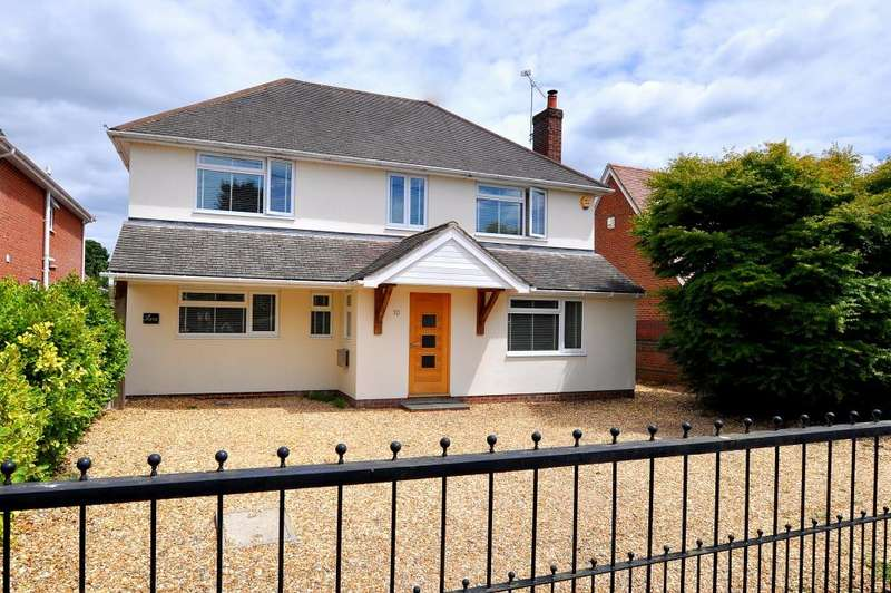 5 Bedrooms Detached House for sale in Seymour Road, Ringwood, BH24 1SG