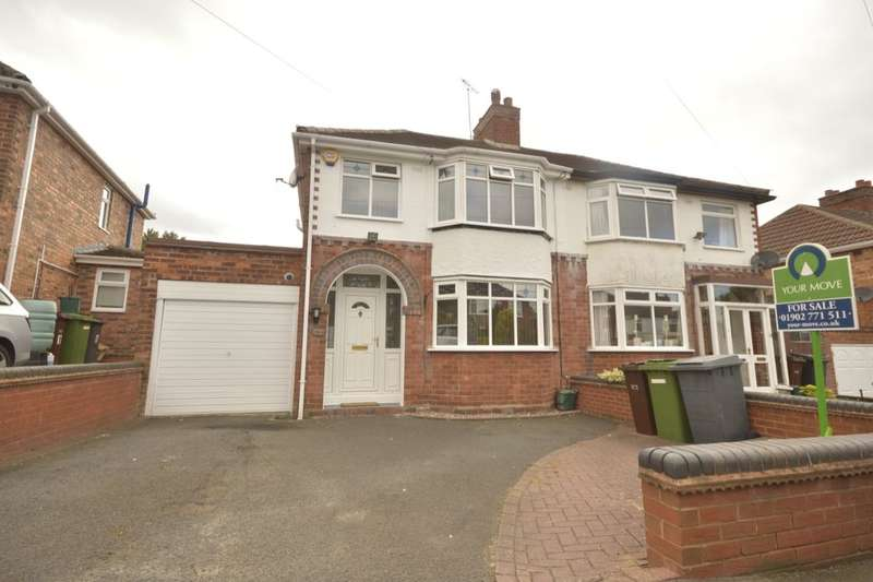 3 Bedrooms Semi Detached House for sale in Fancourt Avenue, Wolverhampton, WV4
