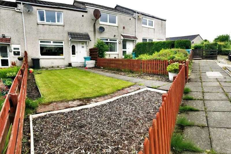 2 Bedrooms Terraced House for sale in Rannoch Drive, Condorrat, Cumbernauld