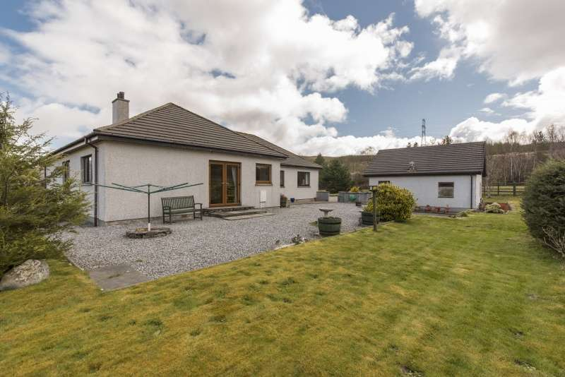 4 Bedrooms Detached House for sale in , Garve, Highland, IV23 2PY