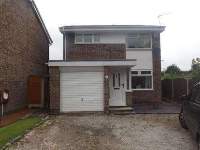 3 Bedrooms Detached House for sale in Stonecrop Close, Birchwood, Warrington, Cheshire
