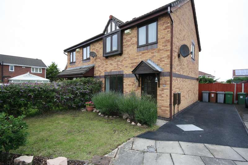 3 Bedrooms Semi Detached House for sale in St. Austell Close, Wirral, CH46 6FG