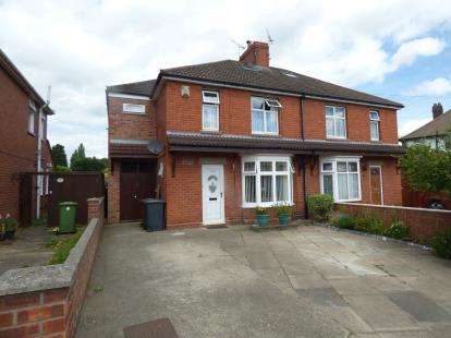 4 Bedrooms Semi Detached House for sale in Boultham Park Road, Lincoln, Lincolnshire