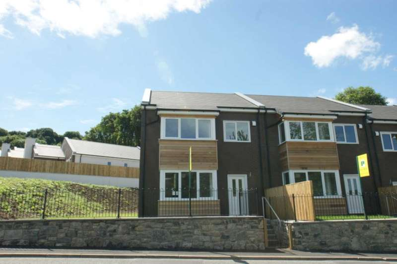 3 Bedrooms End Of Terrace House for sale in Ty Collen, 1 Halkyn Road, Holywell, CH8 7TZ.