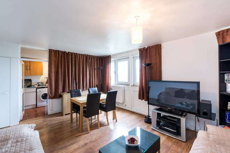 2 Bedrooms Flat for sale in Guildford Road, Stockwell, SW8