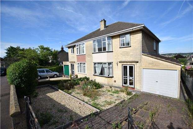 3 Bedrooms Semi Detached House for sale in Southdown Road, BATH, Somerset, BA2 1HL