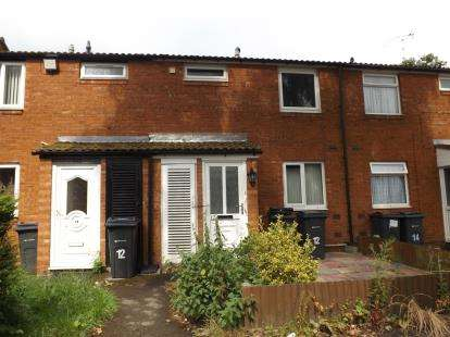 2 Bedrooms Terraced House for sale in The Corngreaves, Shard End, Birmingham, West Midlands