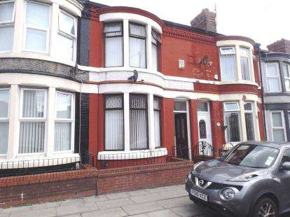 3 Bedrooms Terraced House for sale in Wellbrow Road, Walton, Liverpool, Merseyside, L4