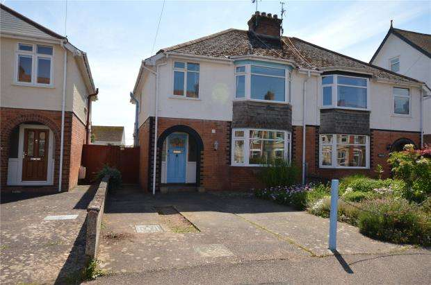 3 Bedrooms Semi Detached House for sale in Lyndhurst Road, Exmouth, Devon