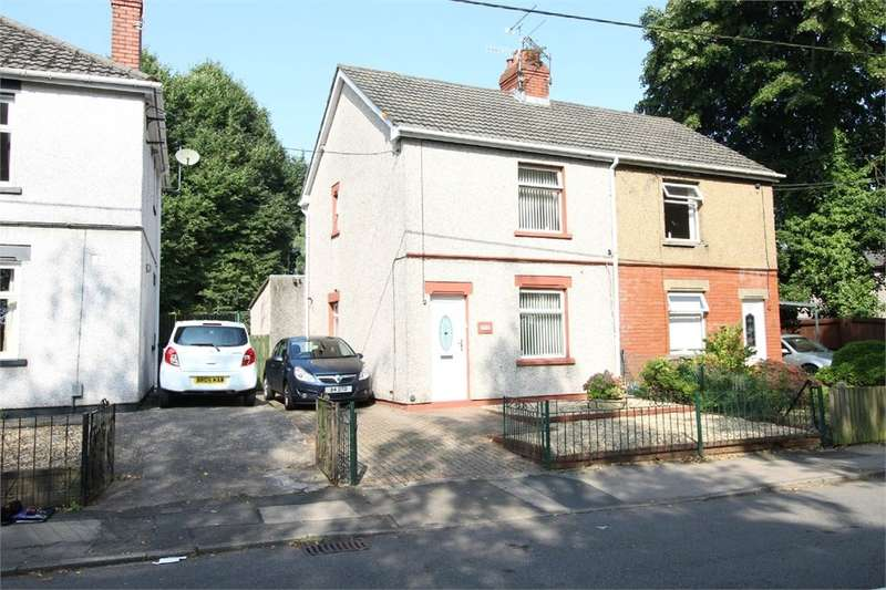 2 Bedrooms Semi Detached House for sale in Cocker Avenue, Cwmbran, NP44